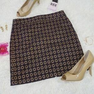 Ann Taylor LOFT Pocketed Mini Pencil Skirt